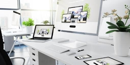 modernes und responsives Webdesign