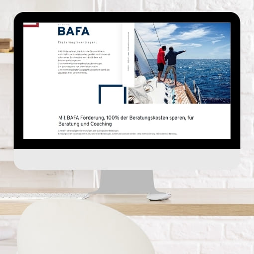 BAFA responsives Webdesign
