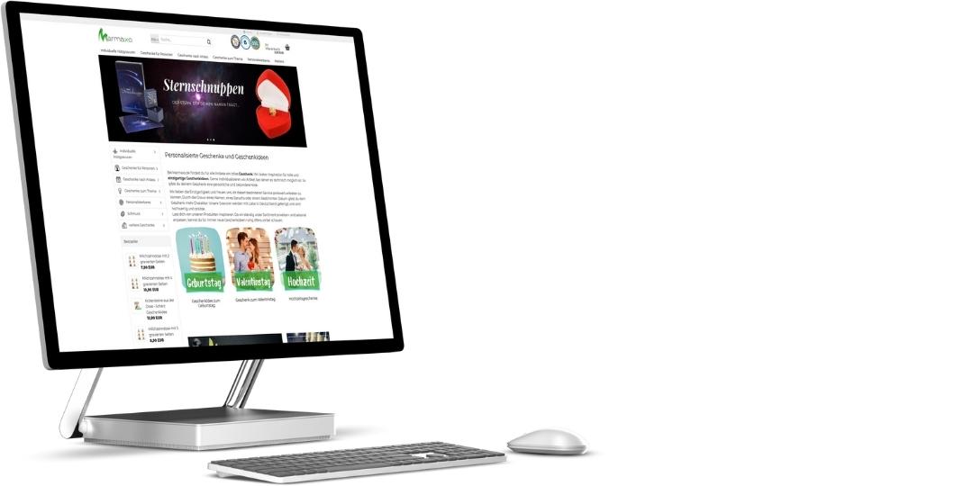 Gambio Onlineshop und Suchmaschinenoptimierung