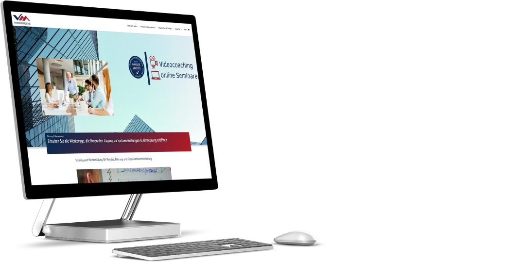 Vertriebsmeister.de | Webdesign Relaunch, Suchmaschinenoptimierung und Social Media Marketing
