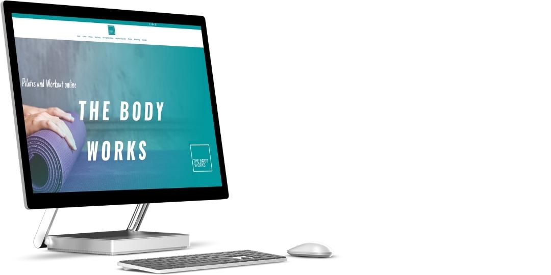 TheBodyWorks.de | erweiterte Landingpage mit Kontaktformular
