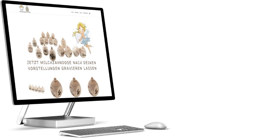 Milchzahndose-mit-Gravur.de   kleiner Onlineshop mit Suchmaschinenoptimierung